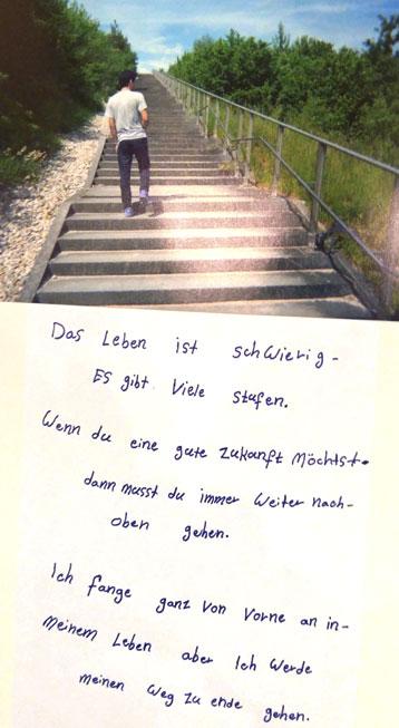 Das Leben wie Stufen