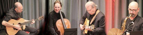 Alexander Haas, akustische Gitarre, Banjo Anna Rehker, Cello Geoff Goodman, Gitarren Márcio Tubino, Sax, Flöte, Perkussion