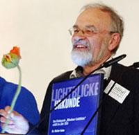 Verleihung Lichtblicke-Urkunde 2018 für Dr. Walter Kuhn von Kolibri