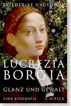 Buchcover Lucrezia Borgia Friederike Hausmann