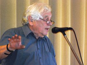 Im Widerstand, Prof. Wolgang Benz beim Benefizvortrag für Kolibri