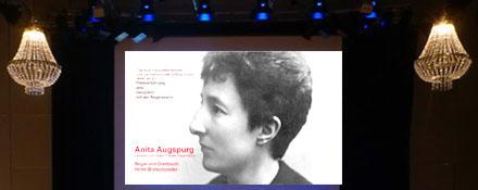 Anita Augspurg Filmvorsführung im Kulturhaus Milbertshofen