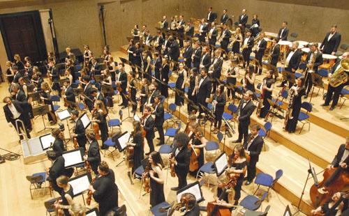 Die Neue Philharmonie München im Herkulessaal