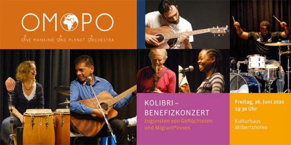 * Benefizkonzert für Kolibri mit OMOPO @ Kulturhaus Milbertshofen | München | Bayern | Deutschland