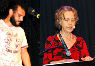 OMOPO: Jean-Luc Valentino mit Angelika Vizedum