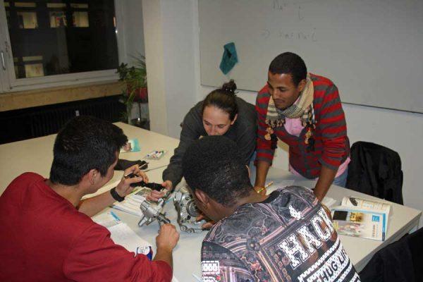 Initiative Gruppe - Ausbildungsbegleitende Hilfen