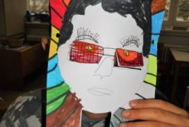 Hassans Kunsttherapie Maske