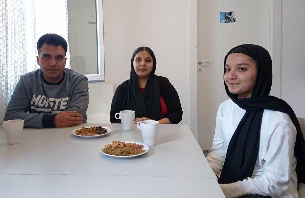 Afghanische Familie findet Hilfe bei Refugio
