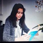 """Aya liest aus ihrem Lieblingsbuch """"Herr der Diebe"""" vor"""