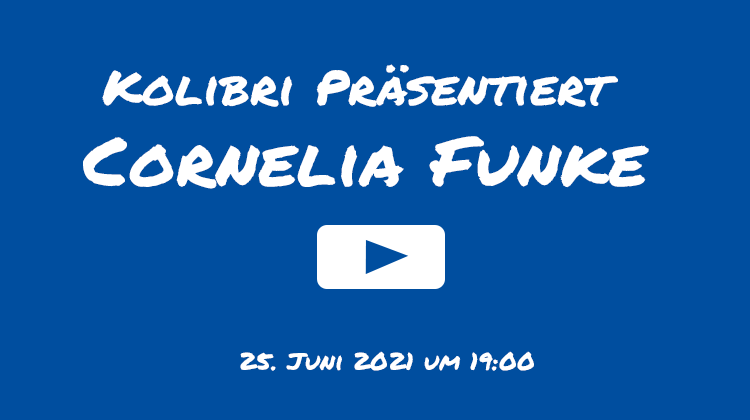 Cornelia Funke Live Stream - Kolibri