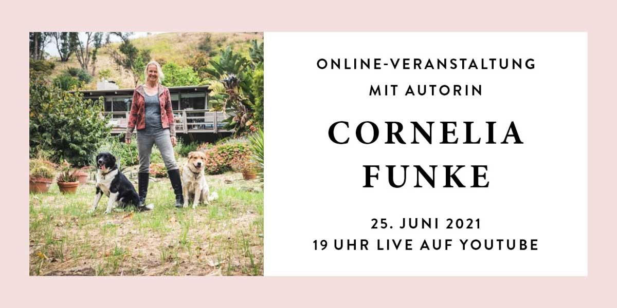 Online Veranstaltung mit Cornelia Funke